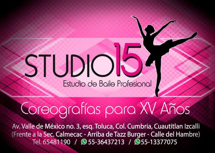 Studio 15 coreografías para XV años Cuautitlan Izcalli