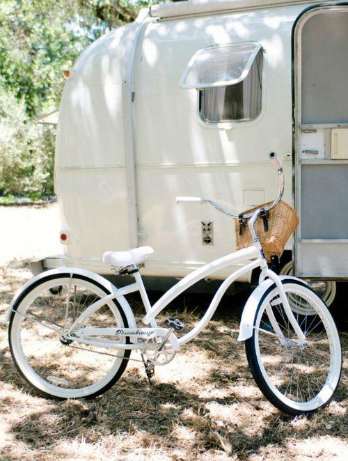 bike and camper