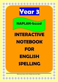 Here is a great product for improving Year 3 students' spelling and vocabulary skills. There are 21 worksheets in which meticulously selected words in line with NAPLAN requirements (Australian Curriculum) are included for spelling practice and vocabulary learning.