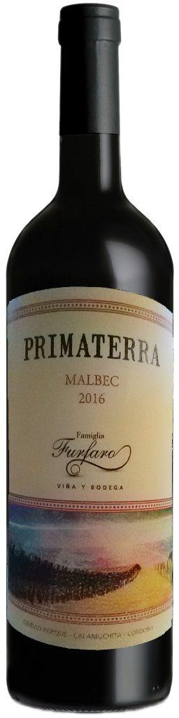 """Primaterra"" Malbec 2016 - Bodega Familia Furfaro, Córdoba-----------Terroir: Valle de Calamuchita - Córdoba"