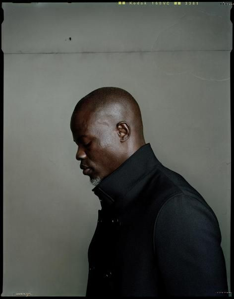 Portrait of Djimon Hounsou by Dan Winters
