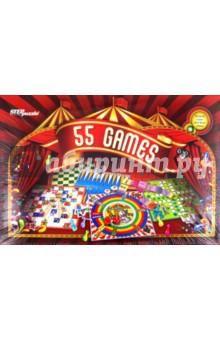 55 лучших игр (76073)  — 614 руб.  —  Мы собрали в одной коробке 55 лучших игру со всего мира. Здесь Вы найдете: мемо и карточные игры, шахматы и шашки, нарды, различные игры-бродилки и игры с кубиками. Все игры входящие в комплект очень разнообразны. Будут интересны как детям, так и их родителям. КОМПЛЕКТАЦИЯ: Игровые поля (двусторонние) 3 шт., Шашки 32 шт., Наклейки на шашки (шахматы) 32 шт.  Кубики 2 шт., Фишки четырех цветов по 8 шт. каждого цвета, Карточки домино 28 шт. Парные карточки…