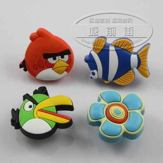Современные экологические нетоксичного мягкого мультфильм детская комната гардеробы дверные ручки ящика шкафа экспорт тянет - Taobao