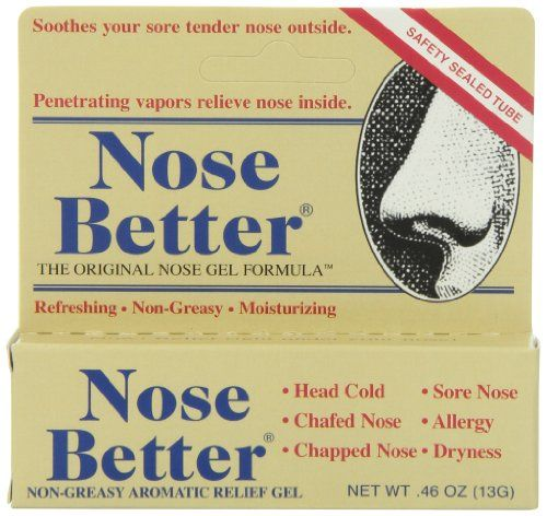 Nose Better NonGreasy Aromatic Relief Gel 46 oz >>> Details can be found by clicking on the image. (This is an affiliate link and I receive a commission for the sales)