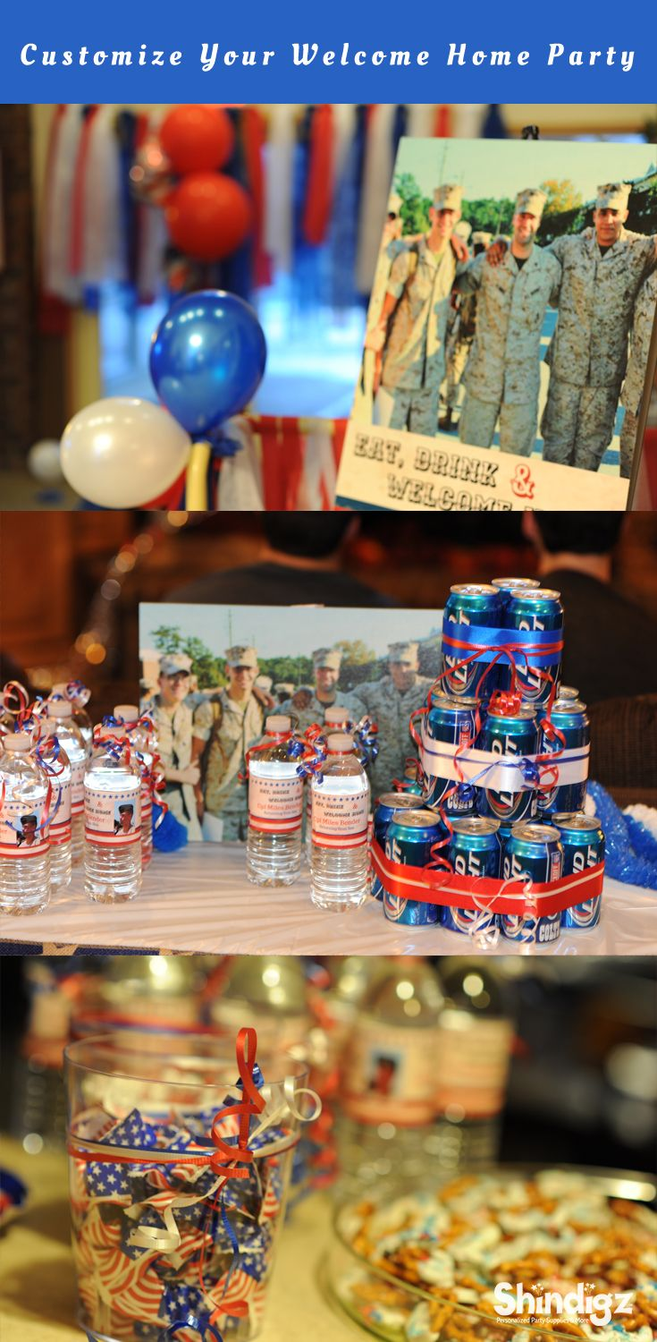25 best ideas about welcome home surprise on pinterest for Military welcome home party decorations