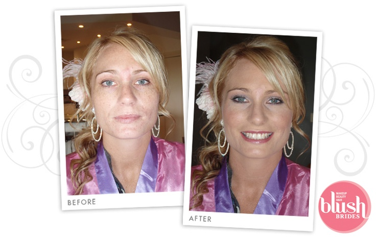 Wedding Hair and Makeup Style