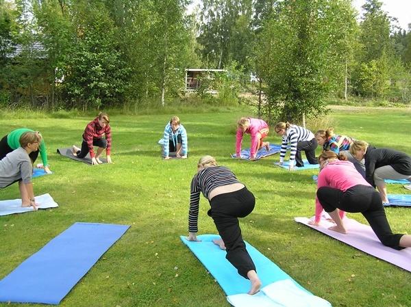 Yoga at Målsånna Farm