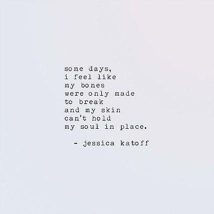 Amazing poet: Jessica Katoff is a contemporary poet and fiction novelist based in Atlanta, GA.