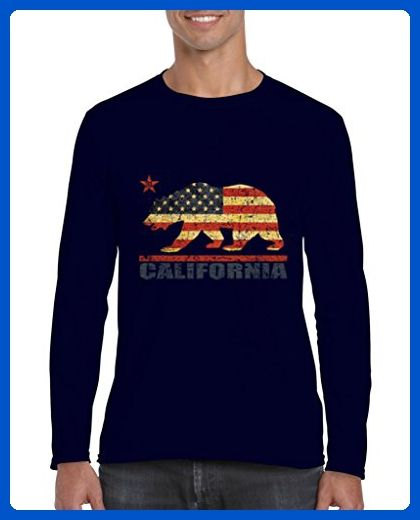 Ugo California Americana Bear Gift for Hollywood CA USA Flag 4th of July {GARMENT_SHORT} - Animal shirts (*Amazon Partner-Link)