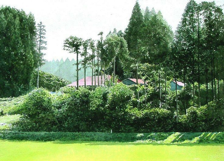 Abe toshiyuki. Watercolor