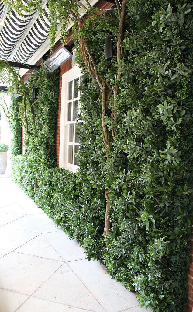 Green Wall at The Bloomsbury Hotel London