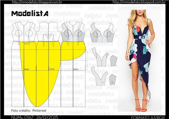 ModelistA: A3 NUMo 0167 DRESS
