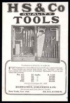 Tool Cabinet 1908 Hammacher Schlemmer Tools Cabinet Photo AD