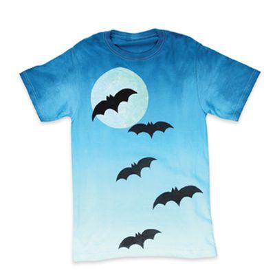 moonlit bats halloween t shirt by tulip michaelsstores - Homemade Halloween Shirts