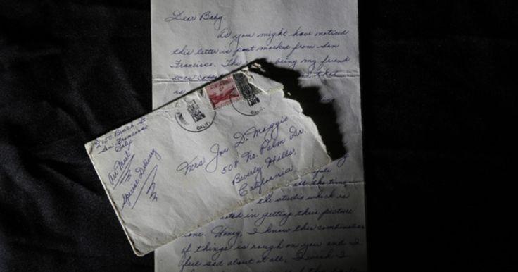 Carta de ex-marido a Marilyn Monroe é leiloada por US$78 mil