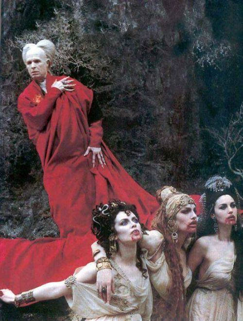 Dracula and his Brides.