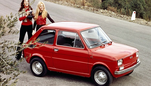 Fiat 126 (1972) my first car