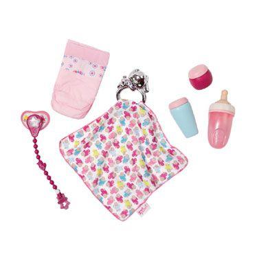 BABY born accessoire set  Deze geweldige accessoireset bevat alles wat een poppenmama nodig heeft.  EUR 14.99  Meer informatie