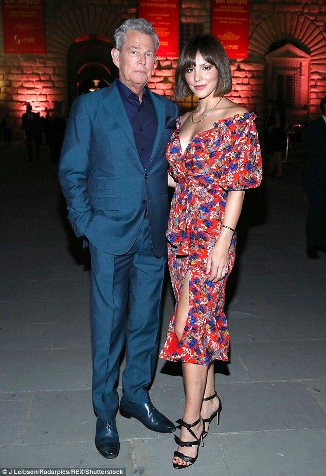 Katherine Mcphee And David Foster Katharine Mcphee Fashion Red Carpet Fashion