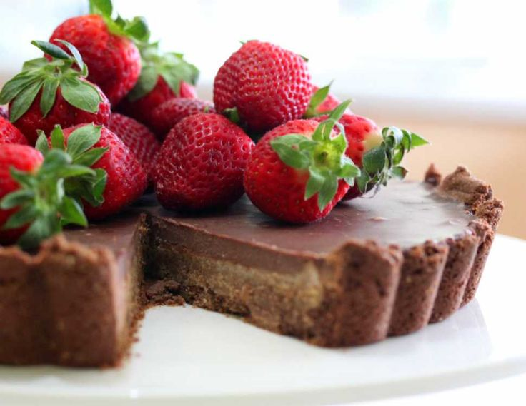 Almond Chocolate Tart - Cooking with Tenina #thermomix #recipe