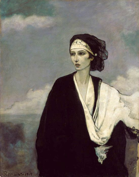 Romaine Brooks. Ida Rubinstein 1917