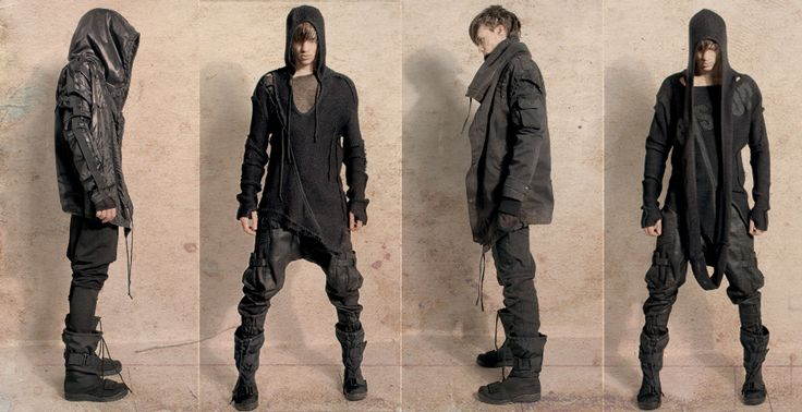 thegoddamazon: I still have this clothing line's site favorited for when I can finally afford my post-Apocalyptic cyberpunk wardrobe. Their clothes are expensive as fuck to be looking so damn raggedy.