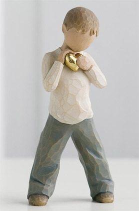 Heart of Gold - Willow Tree Figurine $20 via WillowTree.com