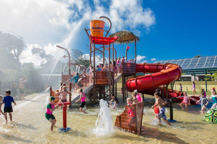 New #splashpark at Discovery Holiday Parks - Pambula Beach