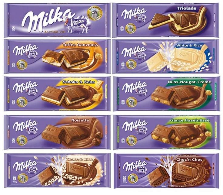 Shawna: milka schoko & keks!!! UUUUMMMMM!