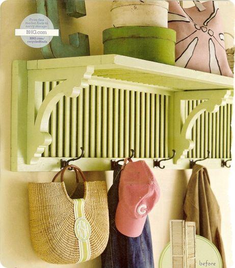 Shutter Shelf from old bifolds