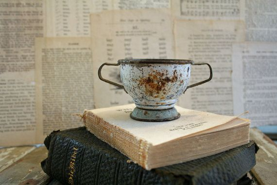 Vintage Soup Tureen From Tin Tea Set  Amazing   by AVintageSeason