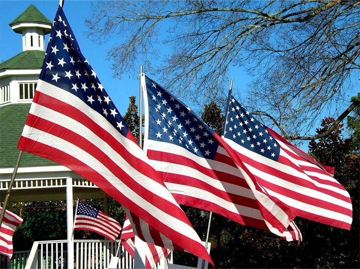 Amerikaanse vlaggen #America