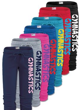 Gymnastics Sport Capris..pick your colors!!