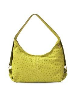 """Chimpel """"NAFS"""" Leather Hobo Handbag. Full ostrich leather. Cape Town, South Africa"""