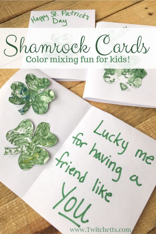 Combine Music And Art To Make A Beautiful St Patrick S Day Cards