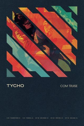 Tycho Com Truise Poster – ISO50, via From up North