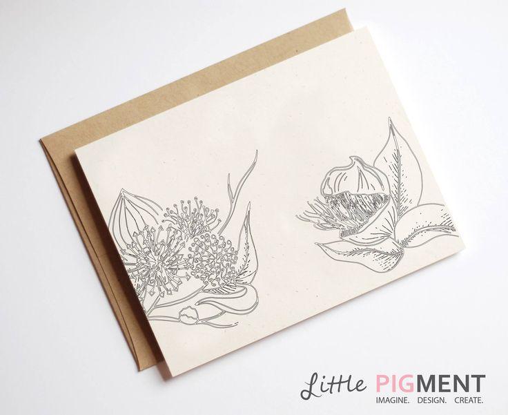 #AustraliaDay #AustralianFlora #AustralianFlowers #Flowers #LittlePigment www.littlepigment.com.au