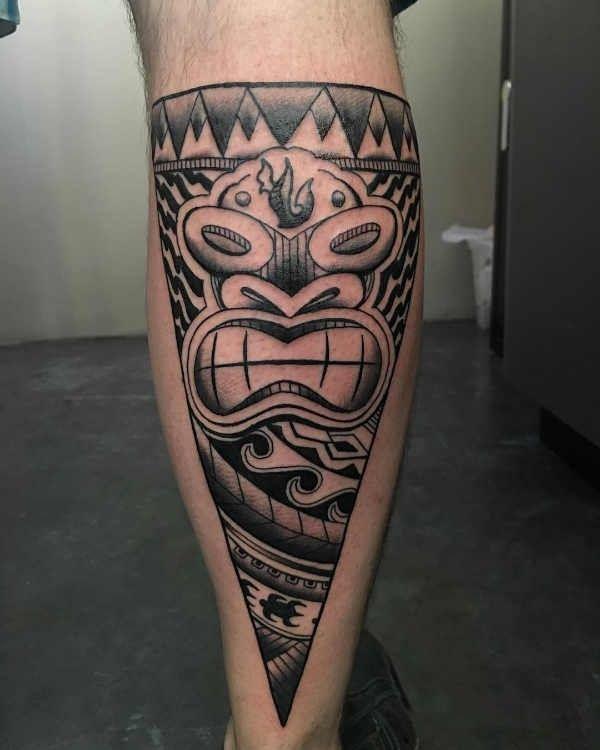 Polynesische Maori Tattoo Betekenis 120x Tattoo
