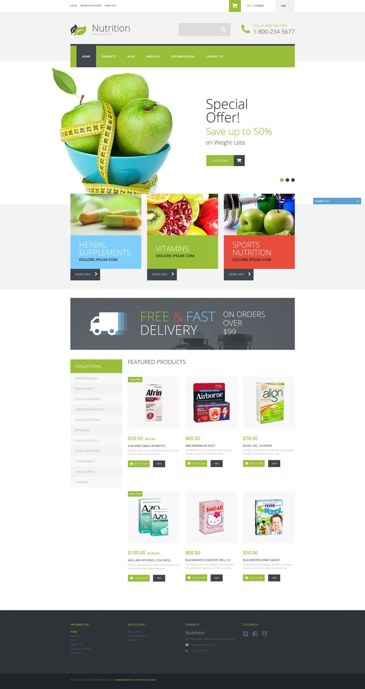 89 best orthodontics website template design images on Pinterest ...