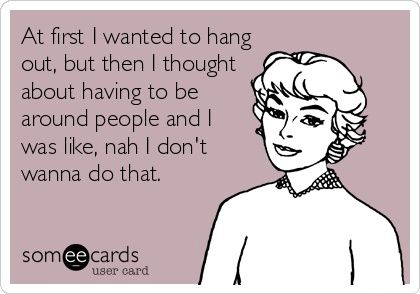 ME! #introvert