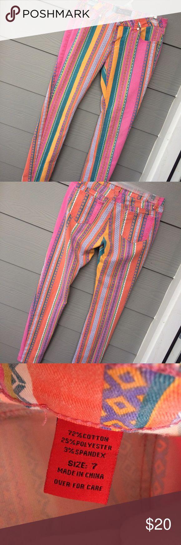 Aztec Pants Aztec skinny jeans Pants Skinny