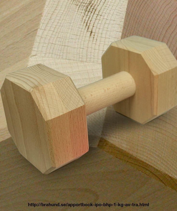 Apportbock IPO/BHP 1 kg av trä.