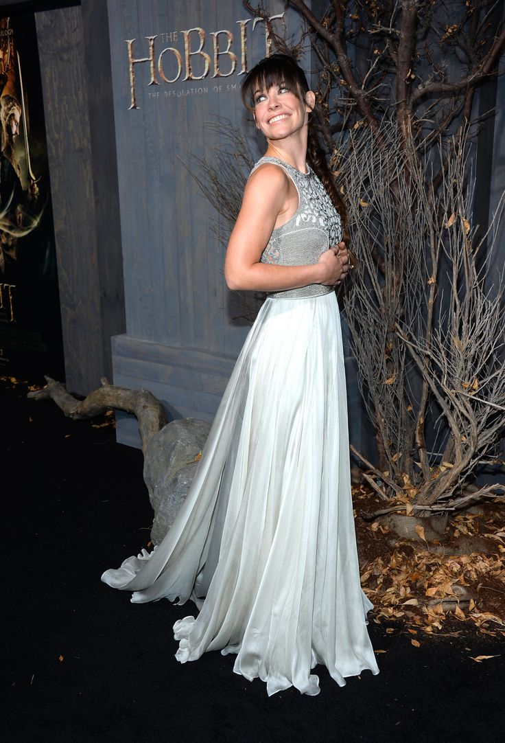 """Evangeline Lilly - """"The Hobbit: The Desolation of Smaug"""" Hollywood premiere (Dec. 2)"""