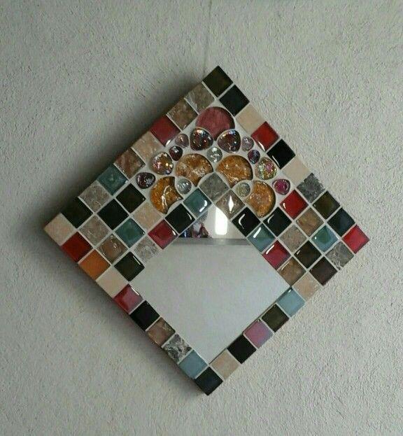 Espejo mosaico 30x30