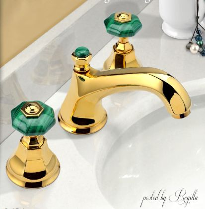 I have earrings, like this faucet!!! Awesome!!