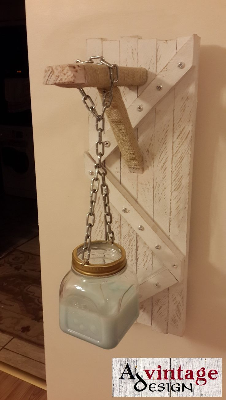 Avintage Design Wall Candle Holder