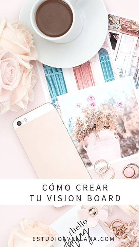 El paso a paso para tu propio Vision Board Agenda Planner, School Hacks, Life Organization, Study Tips, Journal Inspiration, No Time For Me, Projects To Try, Boards, Bullet Journal