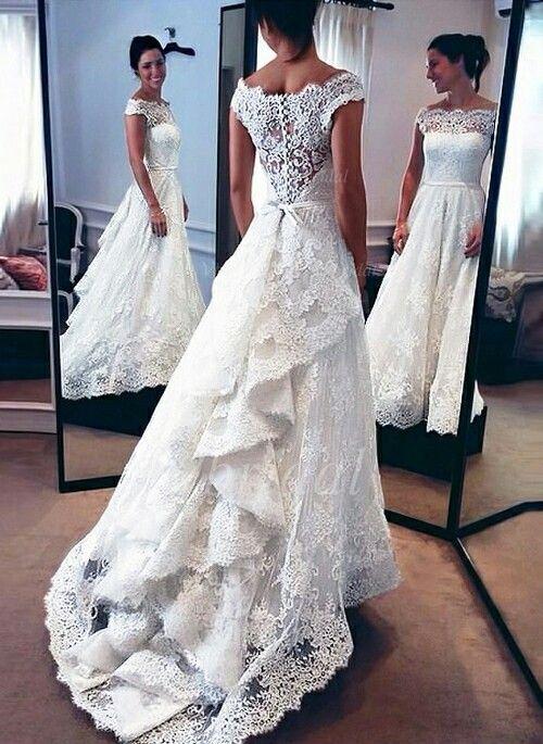 11 besten Hochzeit Kleider Bilder auf Pinterest | Hochzeitskleider ...