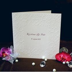Svatební oznámení W542