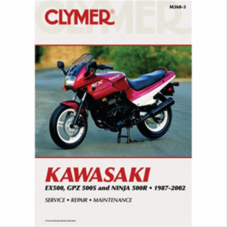 42 best motorcycle repair manuals images on pinterest repair clymer service manual for kawasaki gpz ninja fandeluxe Choice Image
